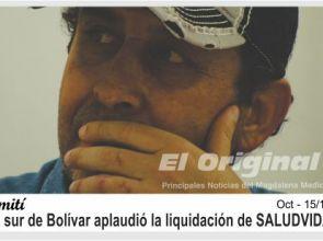 """Afiliados del sur de Bolívar festejaron la liquidación de la peor EPS del mundo """"SALUDVIDA"""""""