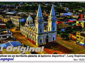 """Bolívar es un territorio abierto al turismo deportivo"""", Lucy Espinosa"""