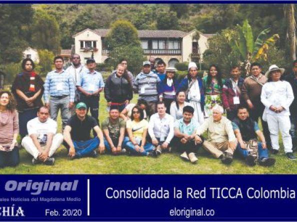 Consolidada la Red TICCA Colombia