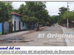 Arrancó el proceso del alcantarillado de Buenavista de Arenal del sur.