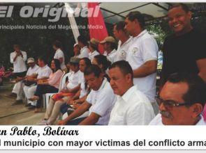 San Pablo, el municipio con mayor número de víctimas del conflicto armado