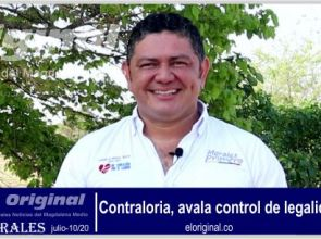 Contraloría, avala control de legalidad en Morales por la declaratoria de calamidad