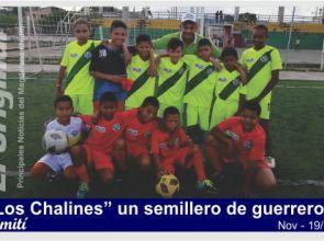 """""""Los Chalines"""", unos guerreros del fútbol simiteño"""